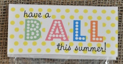 image regarding Have a Ball This Summer Printable named Consist of a BALL this summer time! Absolutely free Printable ~ Dwelling Decorating